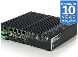 ML810 Compact Hardened Managed 10-port Ethernet Switch
