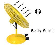 Mobile Fans – 20″, 24″, 30″